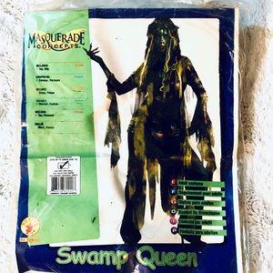 Swamp Queen Halloween Costume Adult One Size
